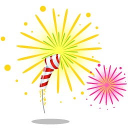 Firecracker vector file. Fireworks vectors free download