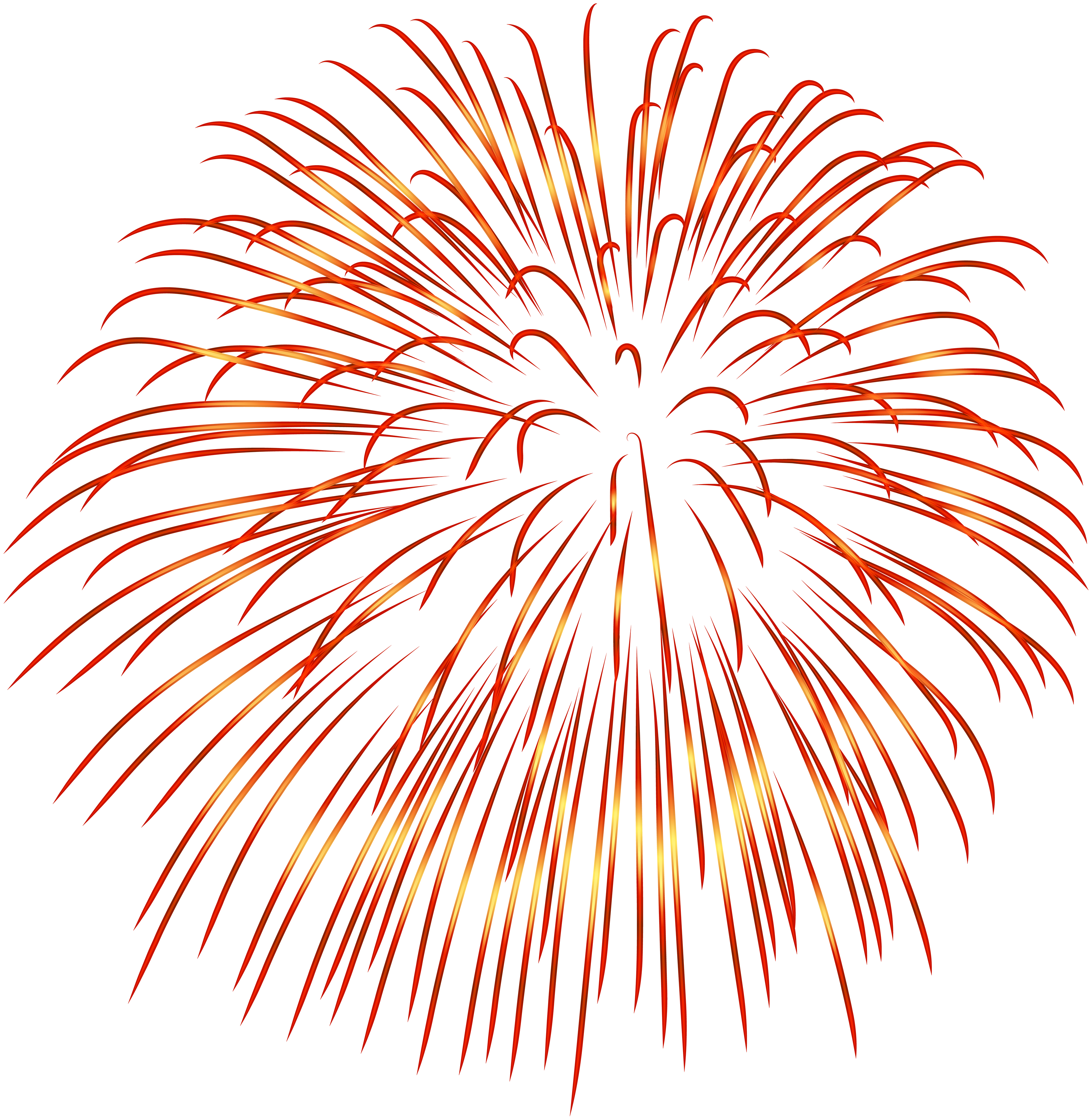 red fireworks png