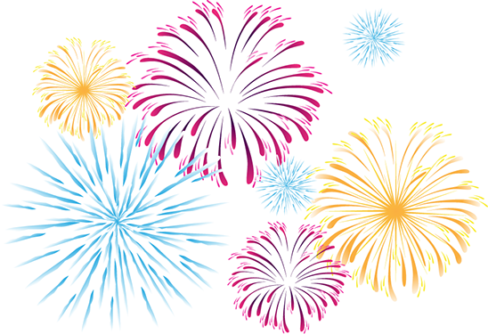 New year fireworks png. Why do explode by