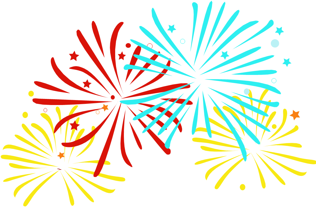 Fireworks clip animated. Fire works cartoon solid