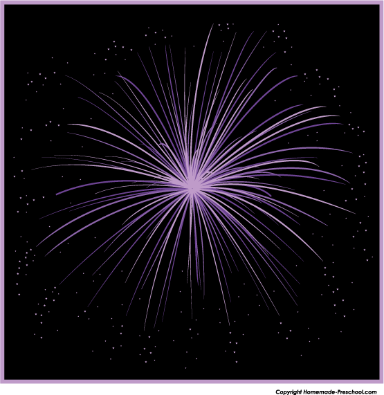 Fireworks clipart single firework. Free click to save