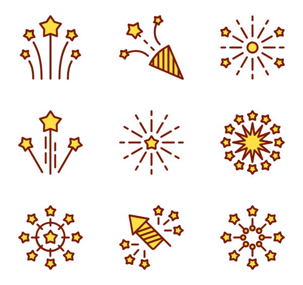 Fireworks image png. Icon packs vector