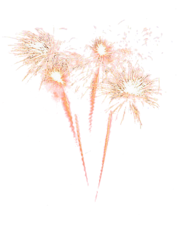 Sparkler png. Fireworks image with transparent