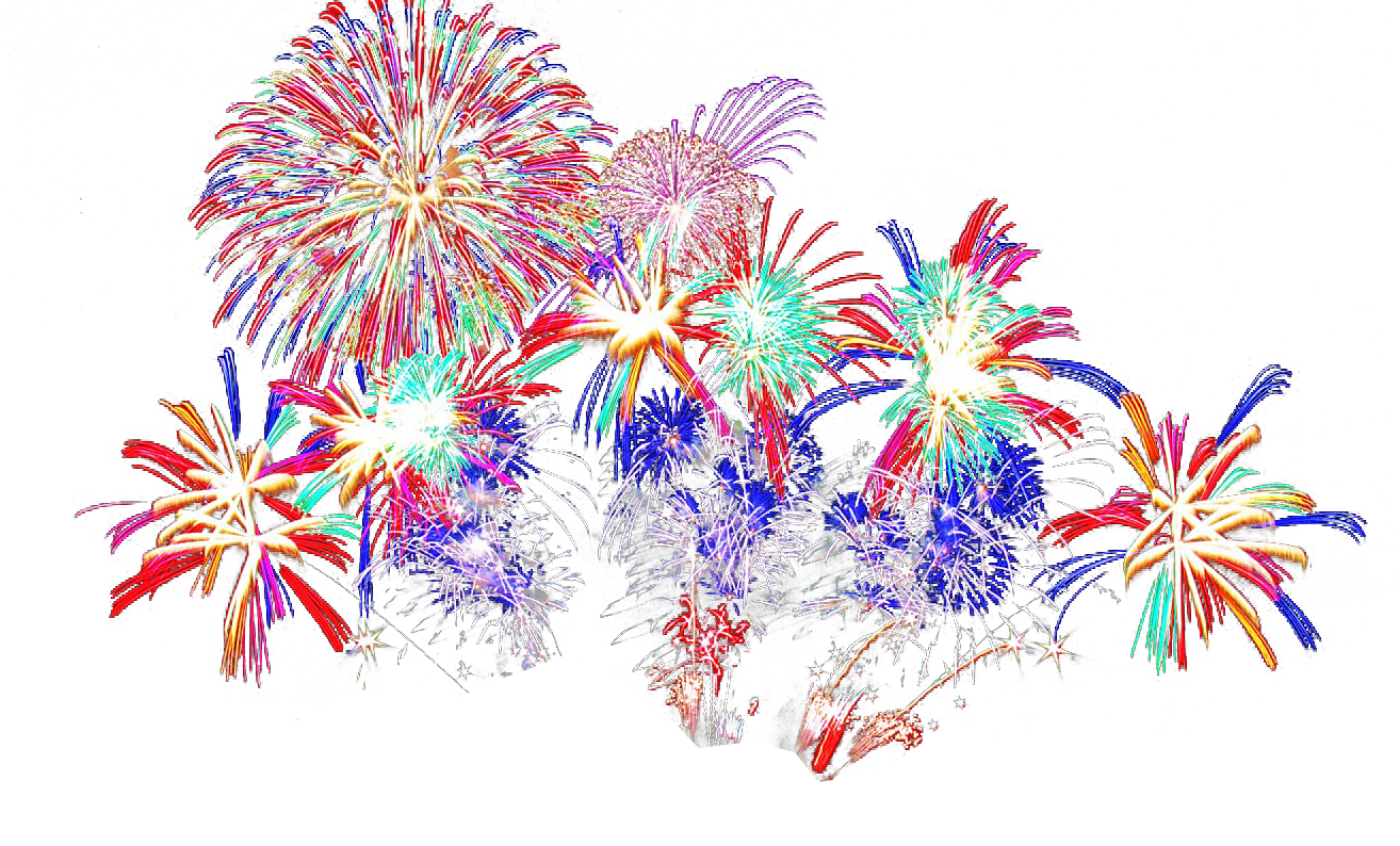 Fireworks clip firework display. Png images transparent free