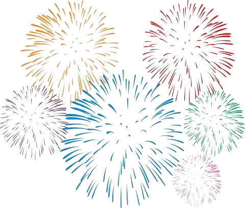 Firecracker vector transparent. Fireworks hd png images