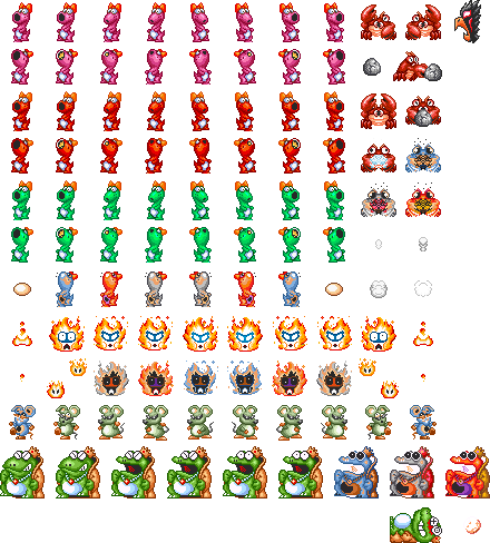 Fireworks sprite sheet png. Super mario all stars