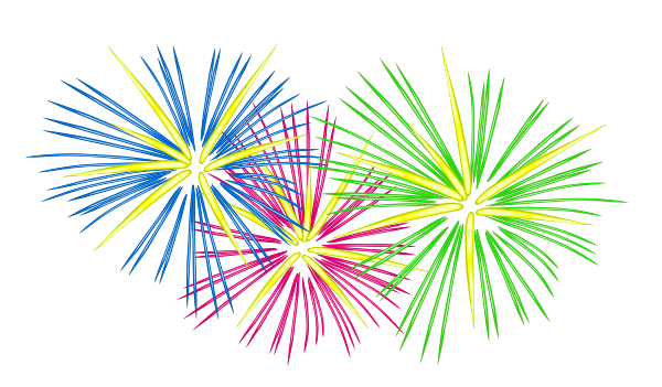 Fireworks vector png. Collection of clipart