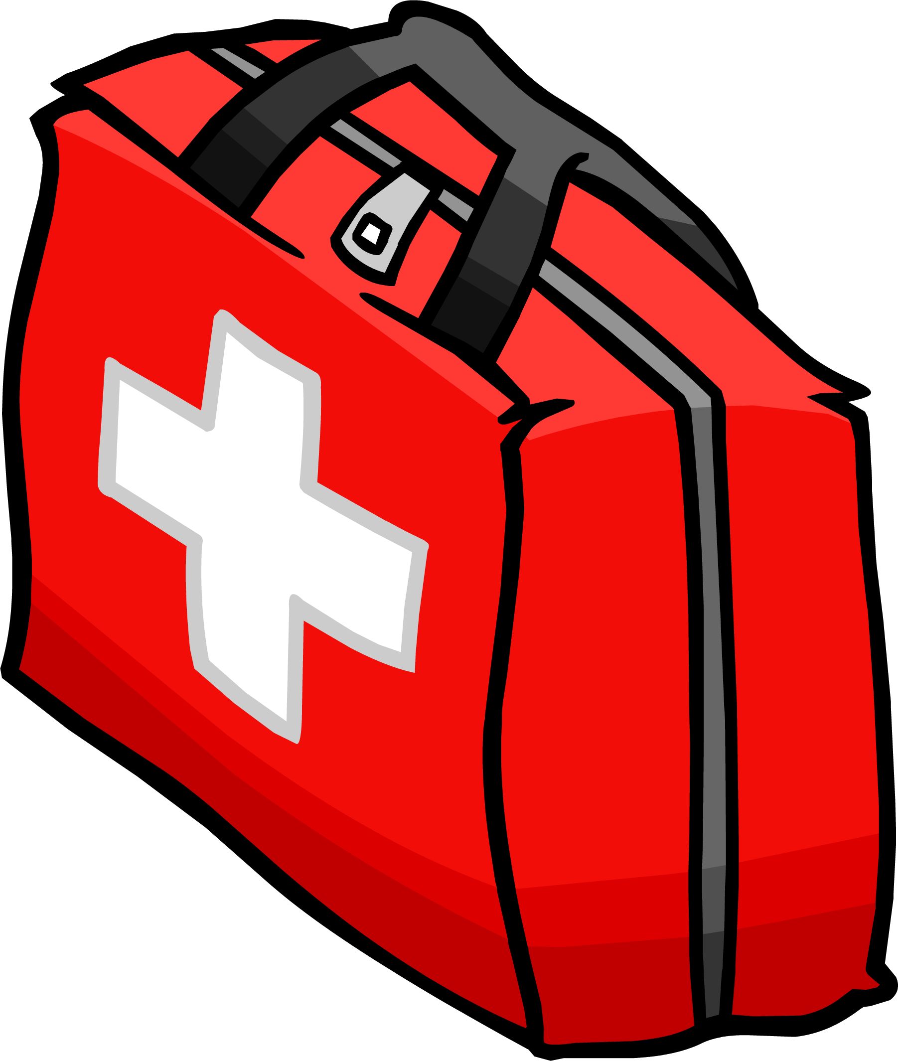 Briefcase clipart cartoon. First aid clip art