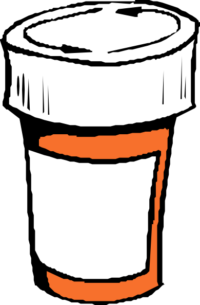 Pharmacy clipart. Free pill bottle cliparts
