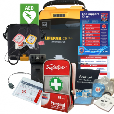 First aid kit clipart first responder. Shop defibrillator and kits