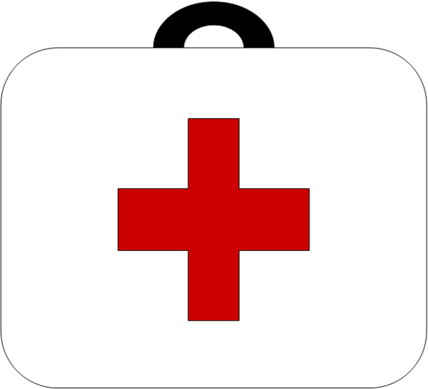First aid kit clipart red. Clip art free bay