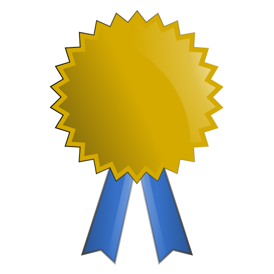 Award clipart certificate. Free prize cliparts download