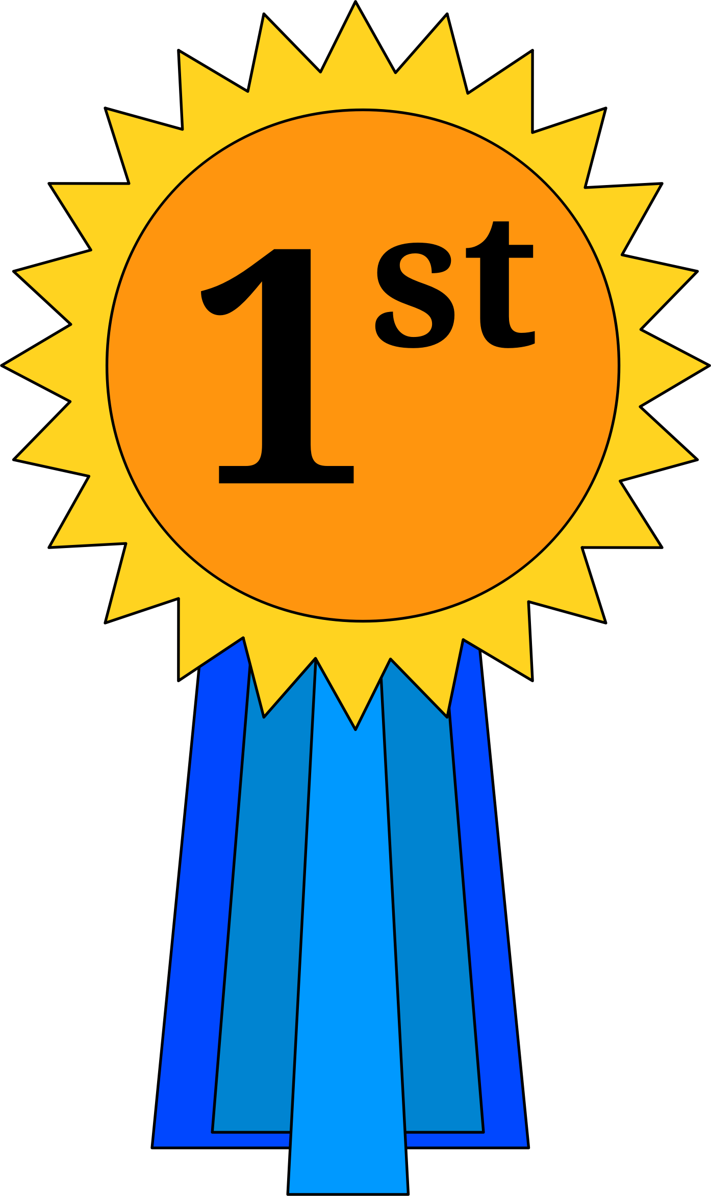 1st place ribbon png