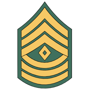 First clipart rank. Army e sergeant sticker