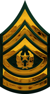 First clipart rank. Army csm png transparent
