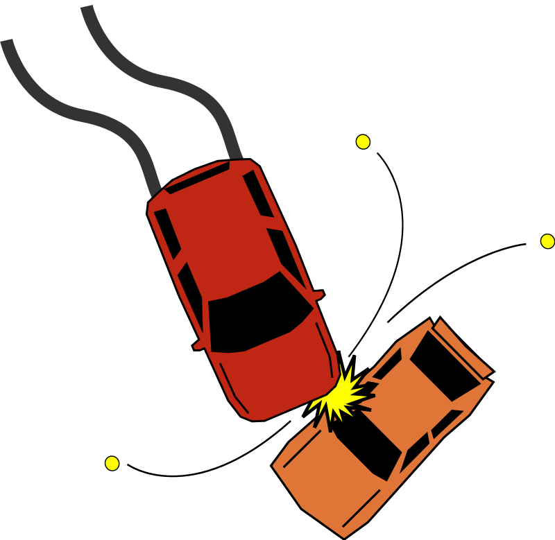 Playground clipart accident. Sports car side view