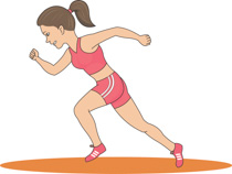 First clipart track star. Search results for runner