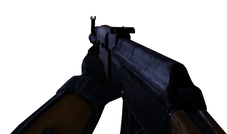 First person gun png. Image ak hl beta