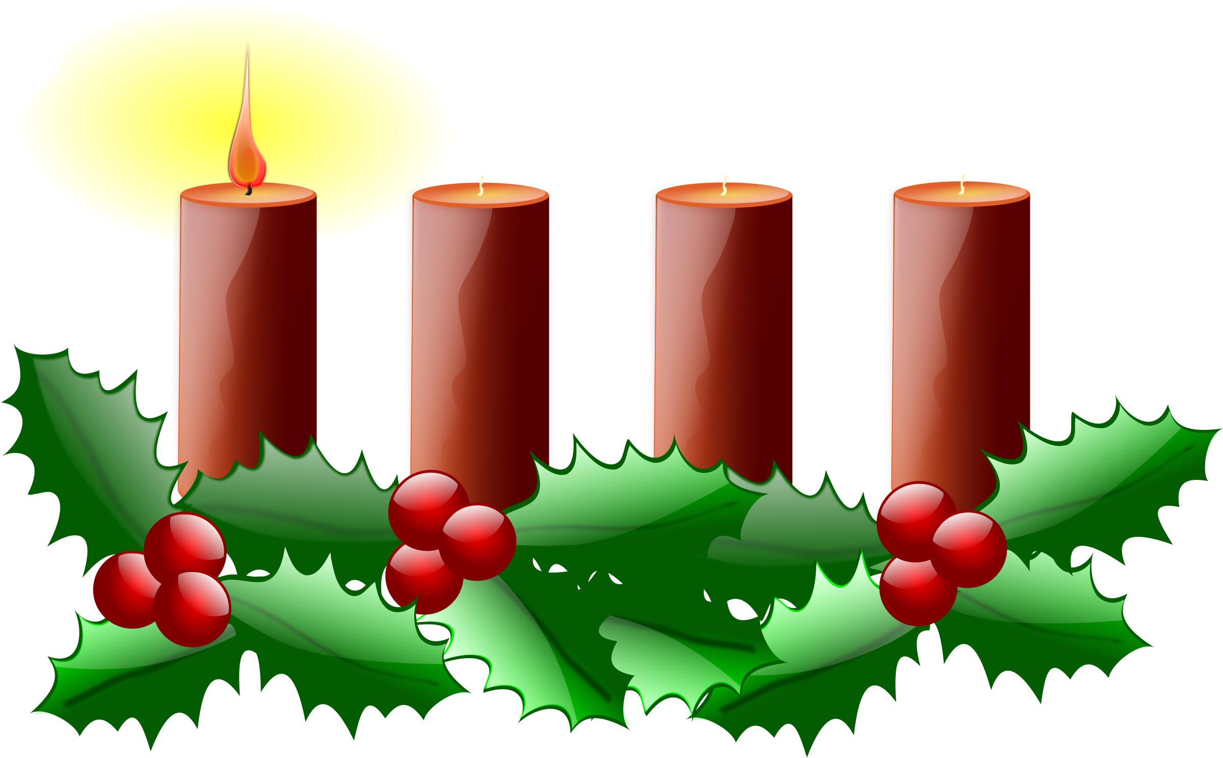 Clipart first sunday of. Transparent candles 1st clipart free download