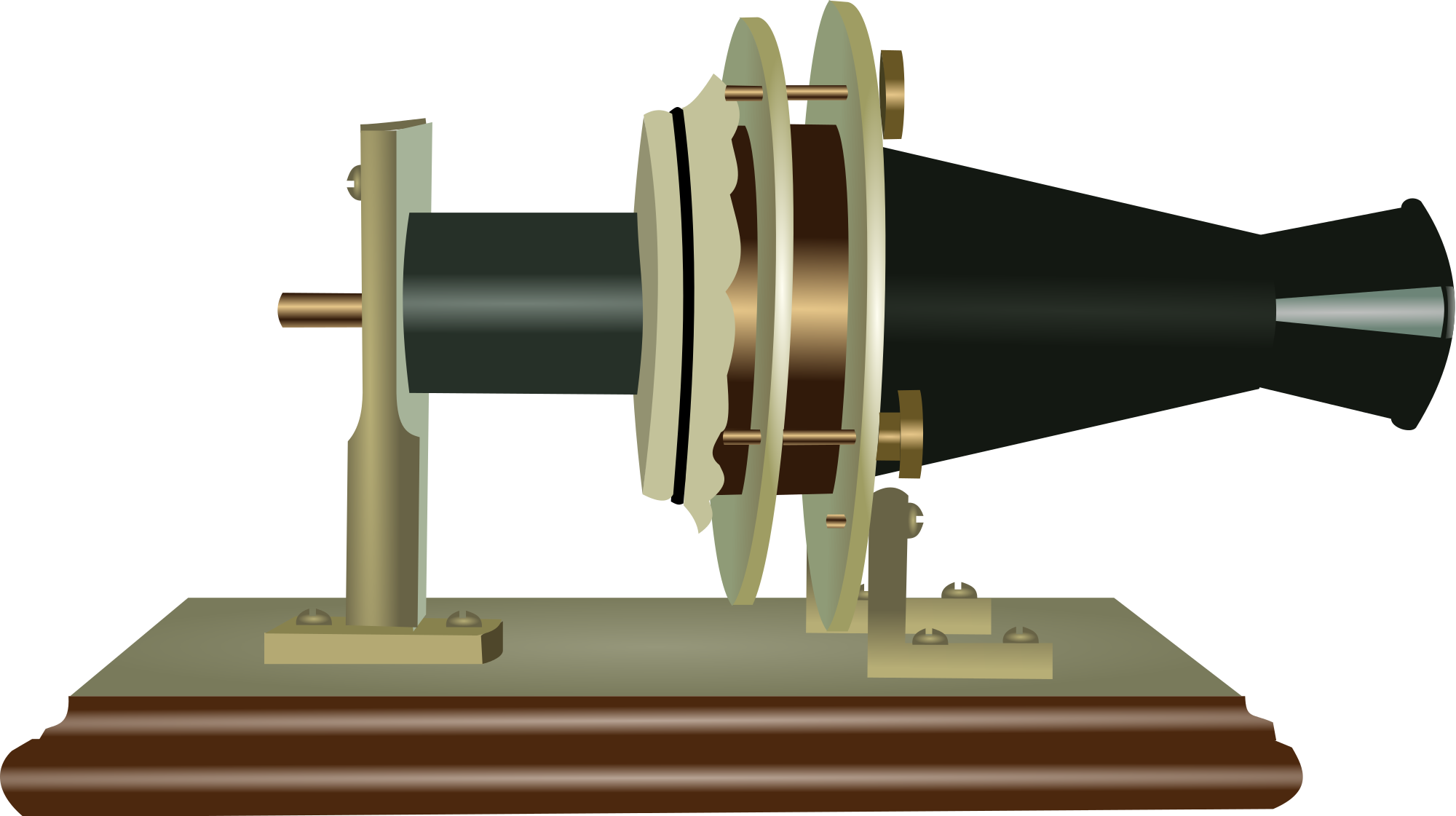 First telephone png. The s microphone invention