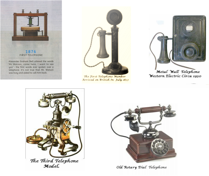 First telephone png. The invention of home