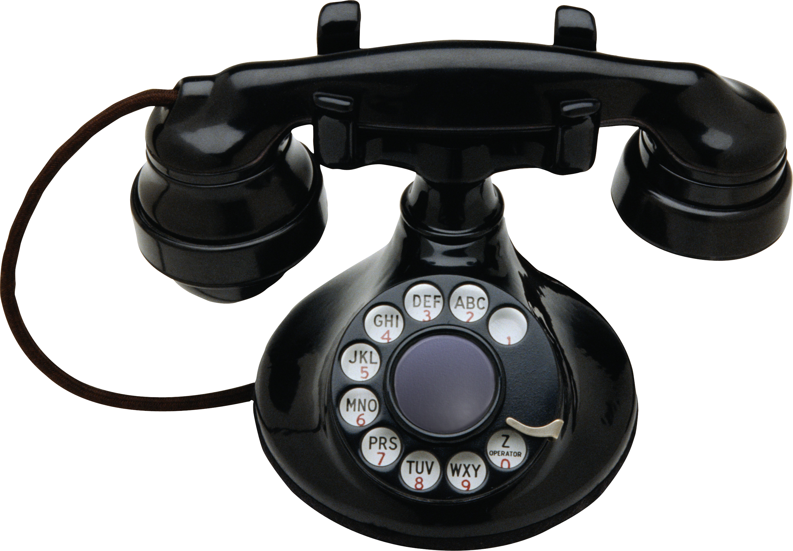 First telephone png. Old