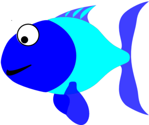 Blue and turquoise at. Fish clip art clip art freeuse stock