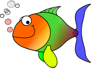 Fish clip art. Comic at clker com