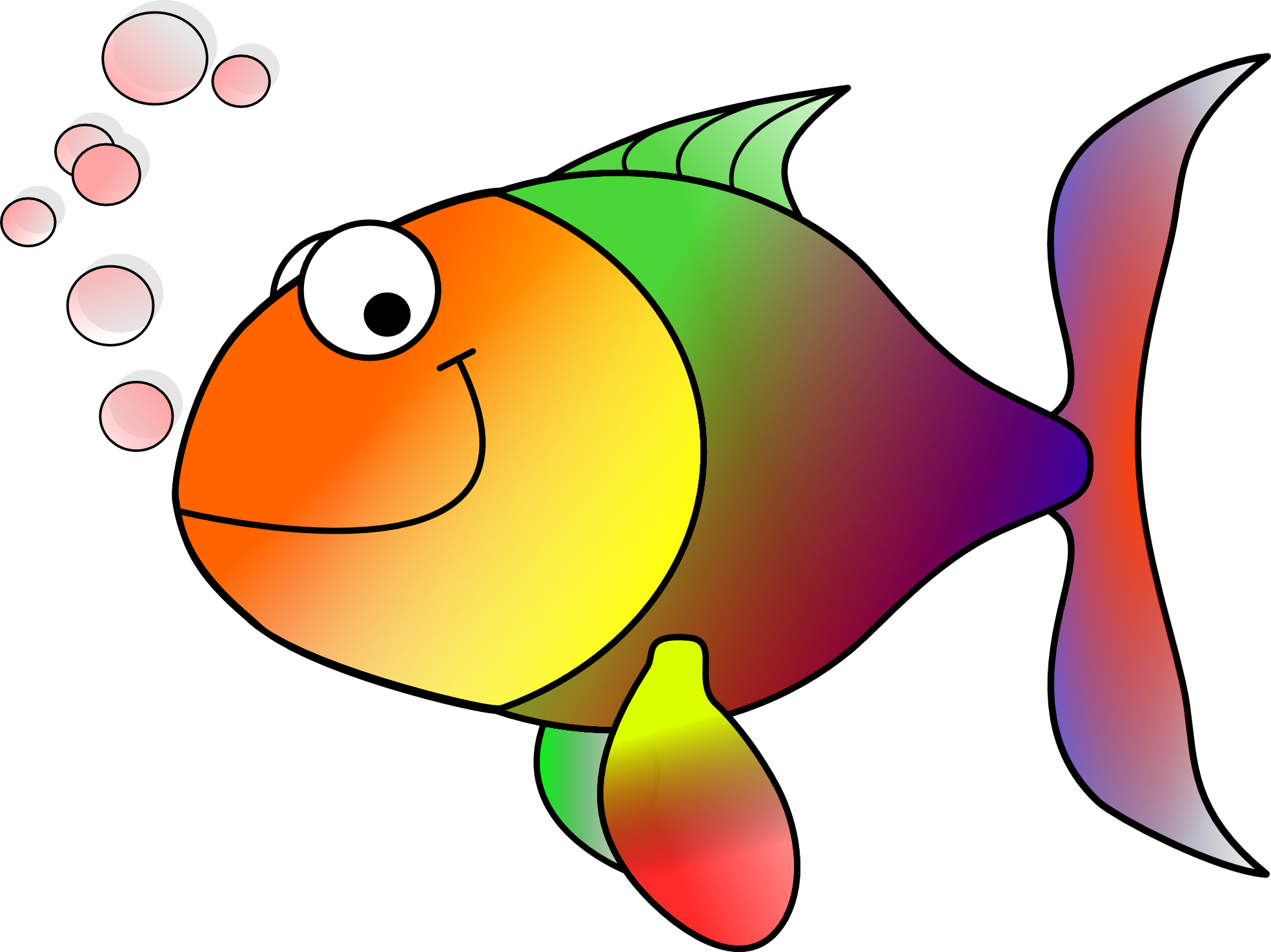 seafood clipart different