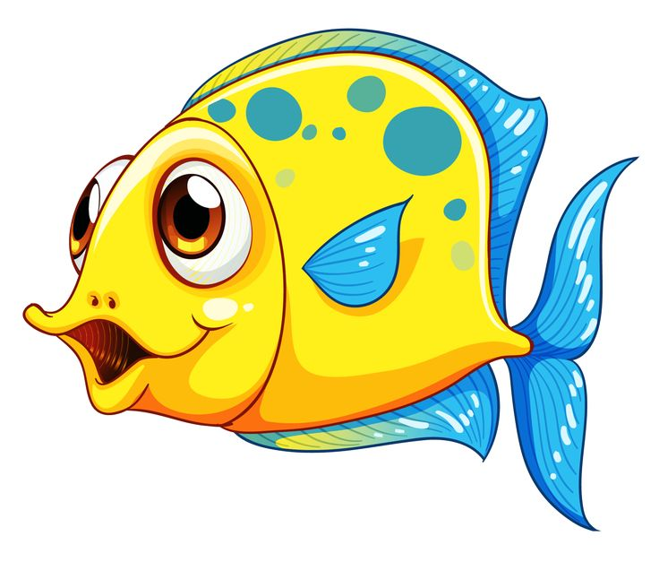 Fish clip art. Best happy face