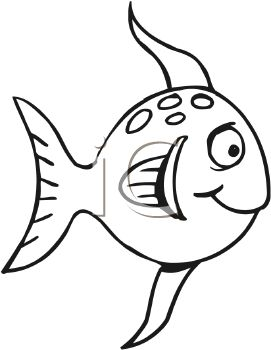 Fish clip art black and white. Drawing at getdrawings com
