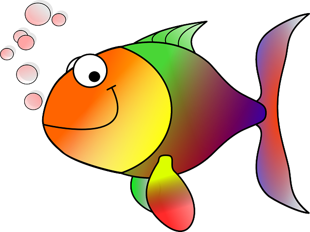 Fish clip art clear background. Aquaristic online by nelson