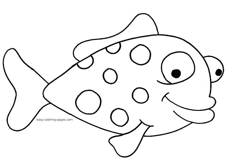Fish clip art coloring page. Book ideas pages arts