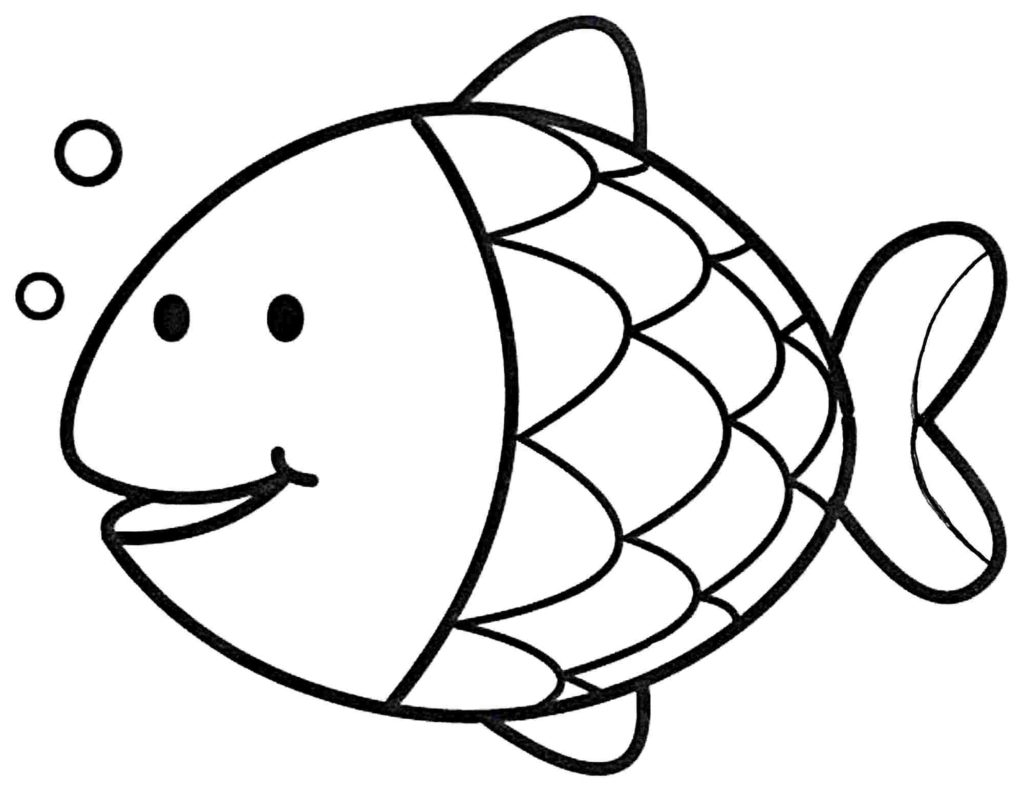Fish clip art coloring page. Globalpath co now refundable