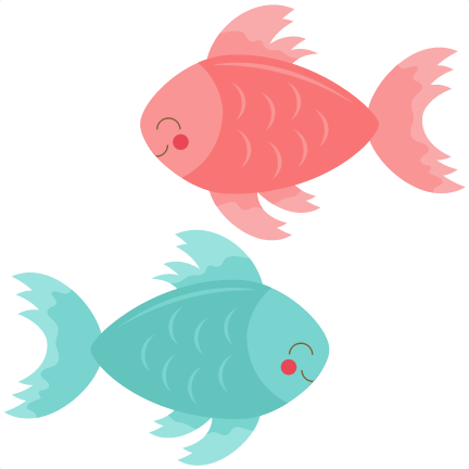 Fish clip art cute. Clipart png library