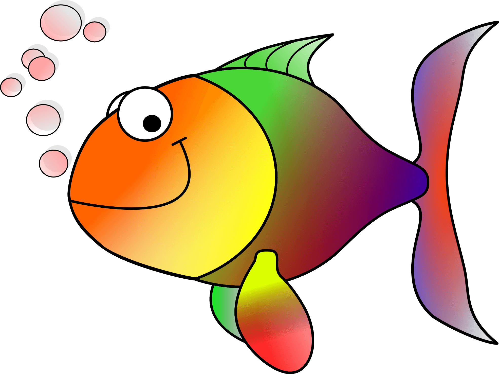 Image of valentine day. Fish clip art cute banner free download