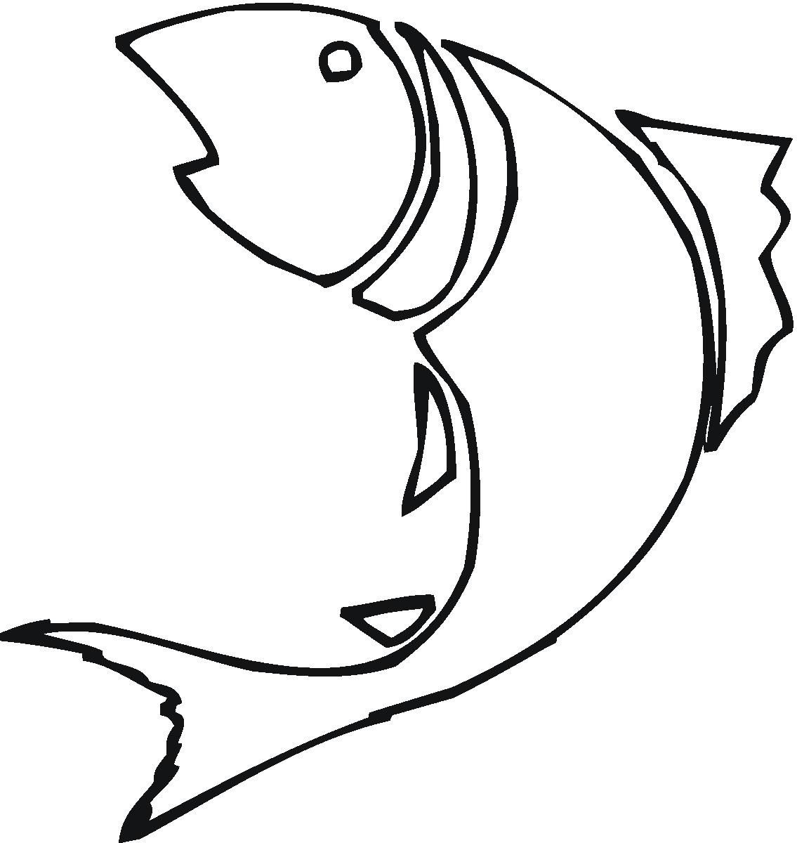 Fish clip art easy. Value sketches weird drawing