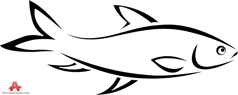 Fish clip art easy. Drawing at getdrawings com