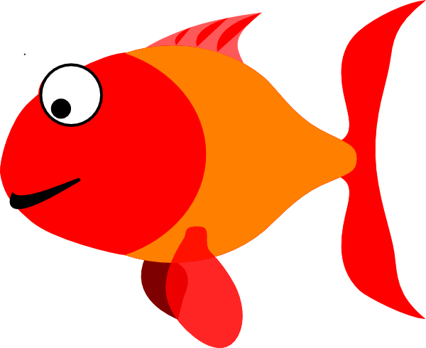 Happy clip art at. Fish clipart png vector library stock