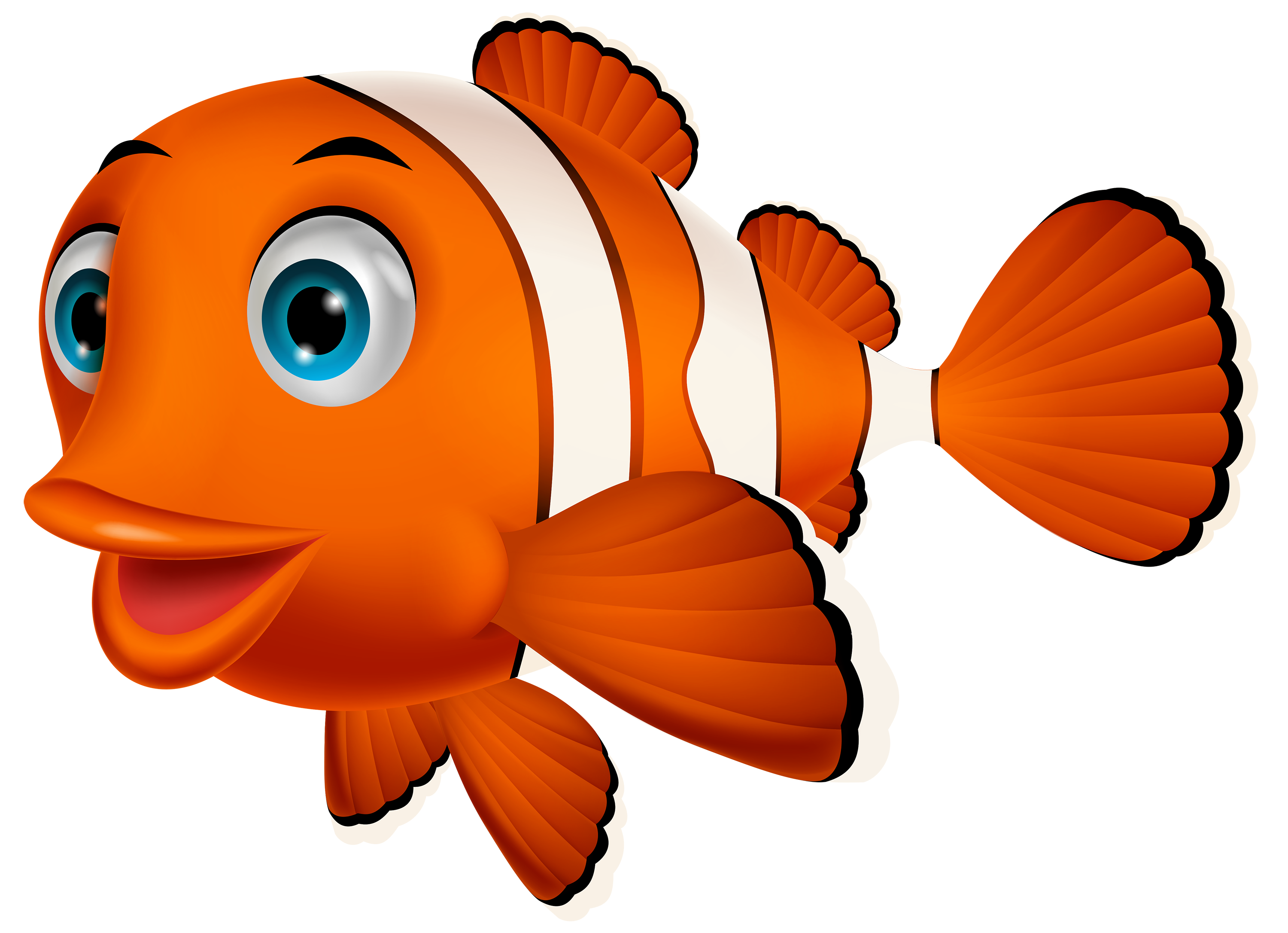 Fish clip art png. Clown clipart best web
