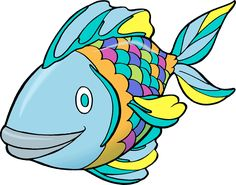 Fish clip art printable. Free coloring pages for