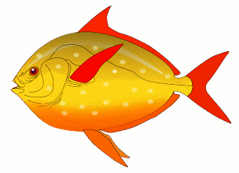 Free yellow clipart page. Fish clip art public domain picture freeuse stock