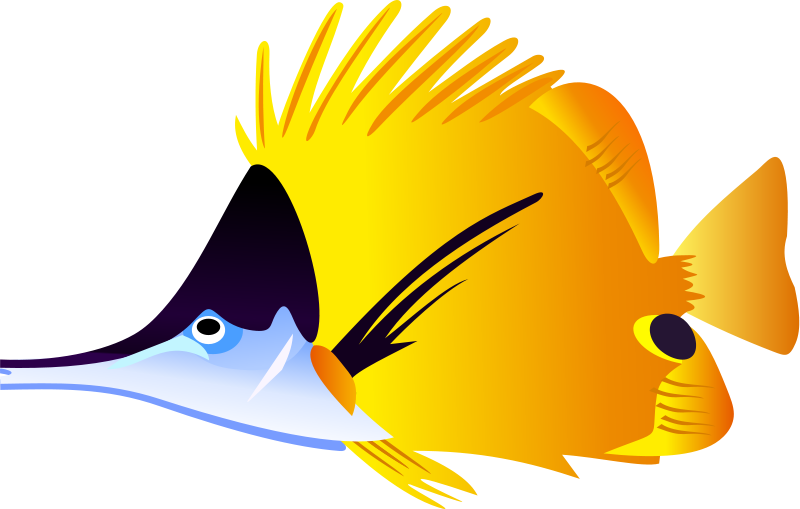 Fish clip art realistic. Tropical for clipart panda