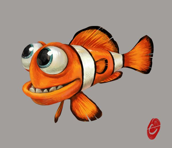 Fish clip art whimsical. Best my style