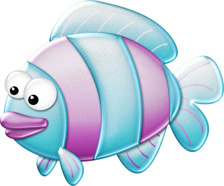 Fish clip art whimsical. Best under the
