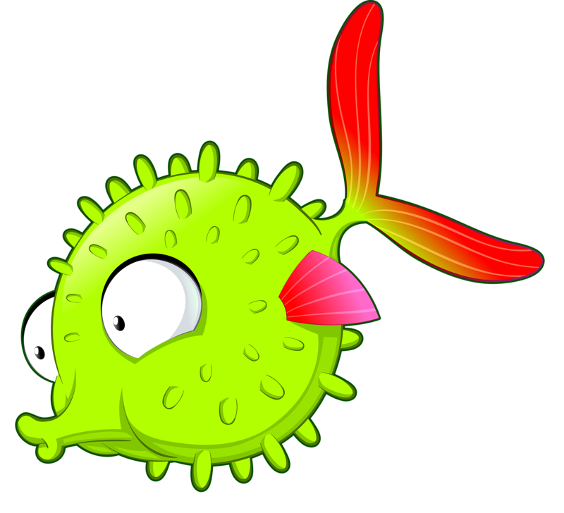 Fish clip art whimsical. Png c painted