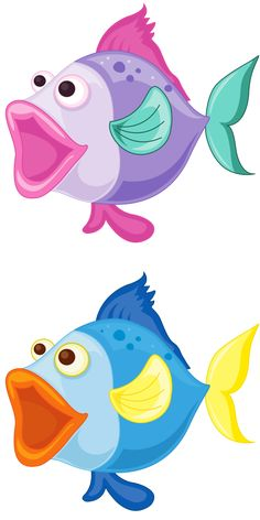 Fish clip art whimsical. Pin by elizabeth chanona