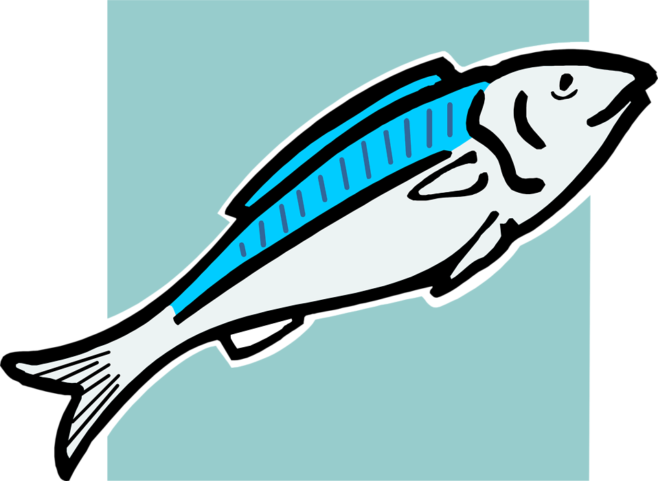 Foods clipart fish. Tropical clip art library