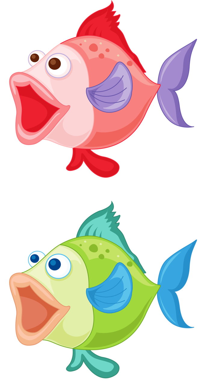Fish clipart character. Png and sea