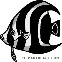 Fish clipart coral reef fish. Clipartblack com animal free